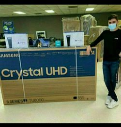 """85"""" Samsung UHD Smart 4k Tv 📺 only $39 down!! 100 days same as cash 💎💎flo💎 for Sale in Houston,  TX"""