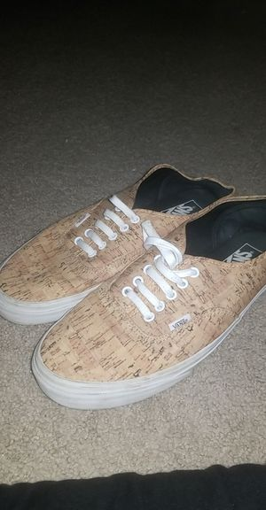 Van's Cork style Mens size 11 shoes for Sale in Rockville, MD