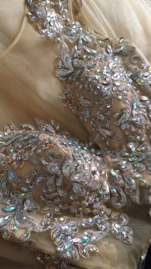 Jovani gold dress for Sale in Newburgh, IN