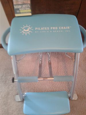 Pilates Pro Chair with Susan Lucci CD for Sale in Henderson, KY