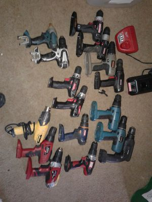 Lot of Power Tools (NO BATTERIES) ***Local Pickup Only*** for Sale in Stockton, CA