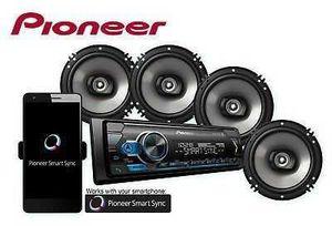 Pioneer Digital Media Receiver & 4 Speakers (6.5in) Bundle!! for Sale in Arlington, TX