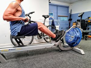 Row Machine - First Degree Fitness E-316 Fluid Rower for Sale in San Diego, CA