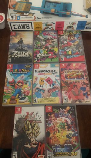 Nintendo Switch Games and LABO for Sale in Tampa, FL