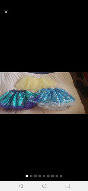 Disney tutu culture skirts for Sale in Odenton, MD