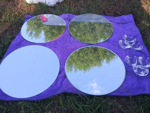 Decoration mirrors and candle holders for Sale in Burleson, TX