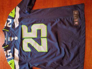 25 Sherman Seahawks Jersey, Men L for Sale in Mill Creek, WA