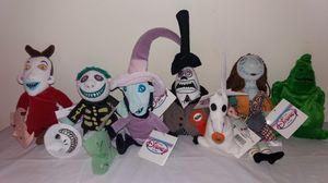 New Disney Nightmare Before Christmas W/ tags Beanie Bags for Sale in Downers Grove, IL