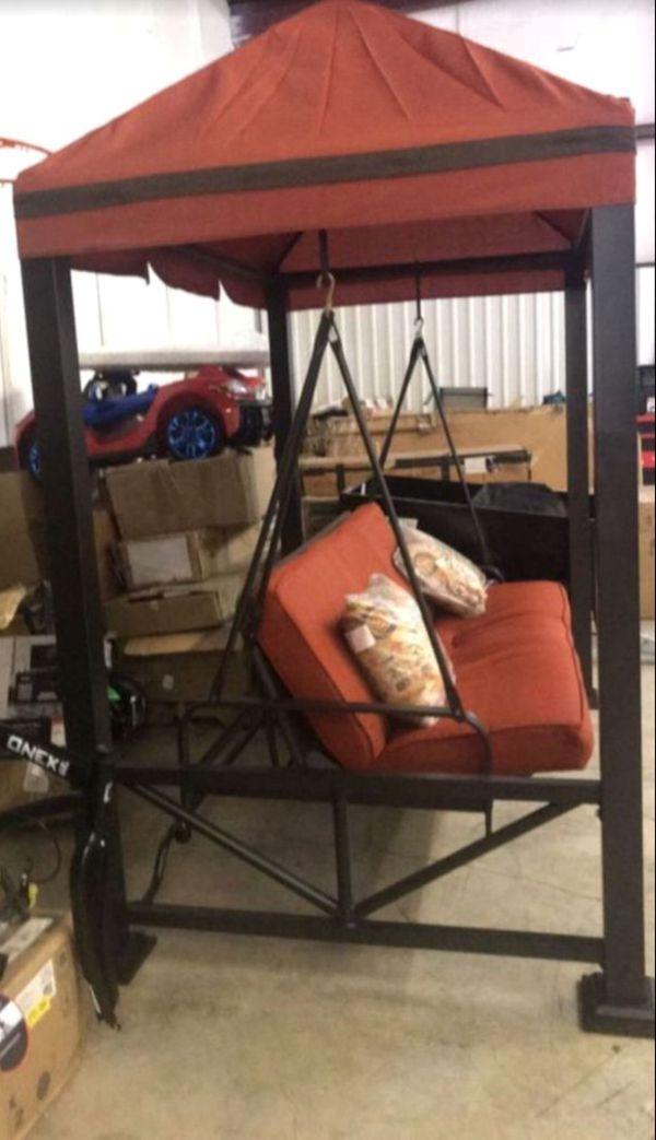 New!! Gazebo swing, 3 person swing, porch swing, swing bed