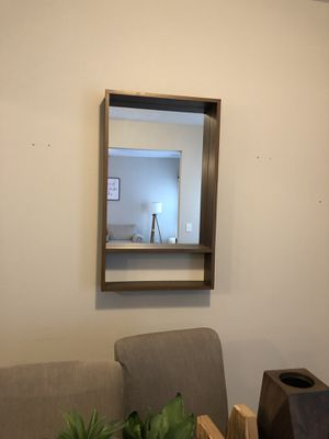 Wood framed wall mirror for Sale in Murfreesboro, TN