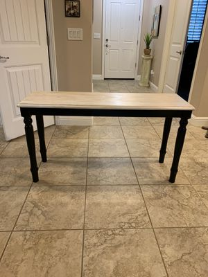 Rustic Wood Console Table for Sale in Roseville, CA