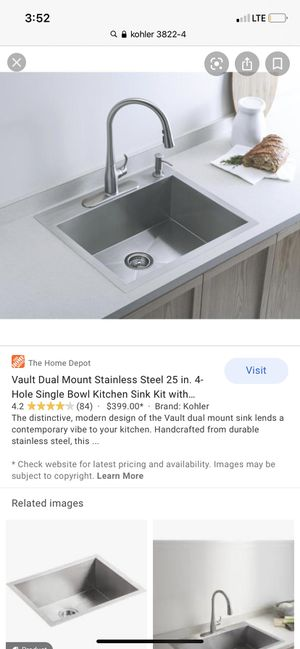 Kohler Kitchen sink for Sale in Houston, TX