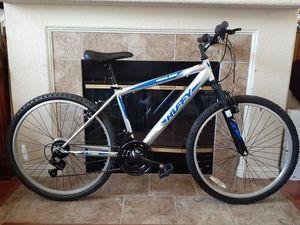"Huffy Men's Highland 26"" Mountain Bike - Silver/Blue for Sale in Sacramento, CA"