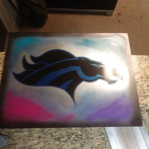 Broncos painting for Sale in Aurora, CO
