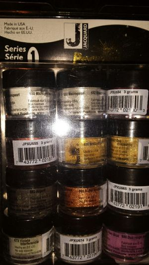 Jaguar Pearl ex powdered pigments series 1 for Sale in Tacoma, WA