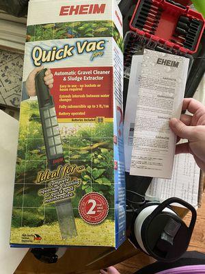 Eheim Quick Vac fish tank gravel cleaner for Sale in Pfafftown, NC