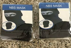 Pack of 4 NBS full head Mask black for Sale in Miramar, FL