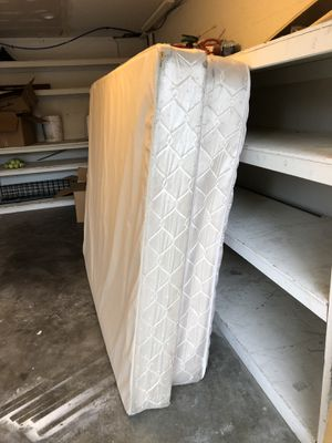 Queen sized mattress, box spring, headboard AND dresser with mirror! for Sale in Seattle, WA