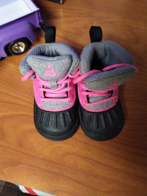 Girls 4c Nike boots. new no box for Sale in Southgate, KY
