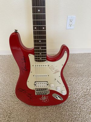 Rolling Stones signed guitar for Sale in Las Vegas, NV
