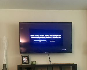 60 inch element flat screen tv with wall mount for Sale in Camas, WA