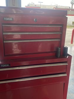 Tool Box Only Top Locks And It Has One Key  for Sale in Corona, CA
