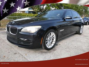 2012 BMW 7 Series for Sale in Plantation, FL