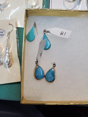 Turquoise stone earrings for Sale in Marietta, GA