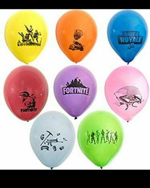 15 Fortnite Birthday Party Balloons for Sale in Port St. Lucie, FL