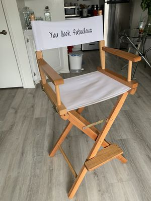 Directors/Make Up chair $99 obo for Sale in Temple City, CA