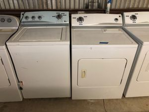 Kenmore Washer&Dryer SuperCapacity 1yr warranty 35yr Same location Credit Cards Welcome Delivery available for Sale in San Antonio, TX