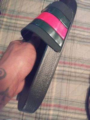 Original gucci slides for Sale in Rockwall, TX