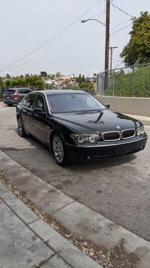 2004 BMW 745li clean title automatic for Sale in Hazard, CA