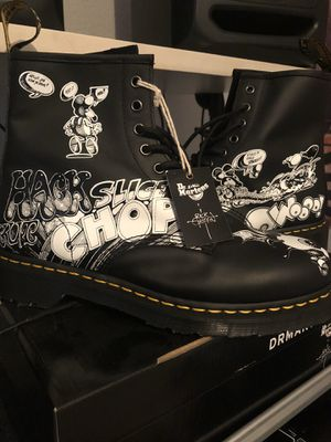 dr. martens x rick griffin for Sale in Portland, OR