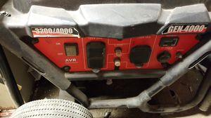 Gen 4000 running watts 3200 4000 for Sale in Indianapolis, IN