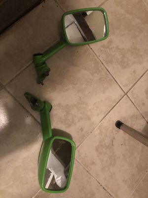 Kawasaki motorcycle mirrors in great condition for Sale in Hamden, CT