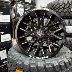 20x12 Dropstar wheels rims for Sale in Santa Ana, CA