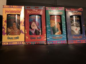 Collectible Disney Pocahontas Glasses for Sale in Seffner, FL