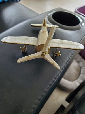 Mother of pearl and brass airplane for Sale in West Palm Beach, FL