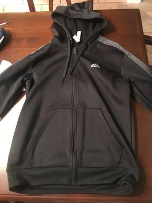 Adidas Black ZIP Up hoodie for Sale in Tampa, FL