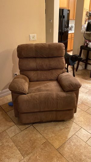 Tan Color Automatic Recliner for Sale in Chino, CA