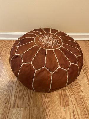 Authentic Moroccan Pouf for Sale in Alexandria, VA