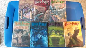 8 hardback Harry Potter books for Sale in Wilsonville, OR