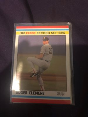 Baseball cards..box of rookies and hall of famers for Sale in Glendale, AZ
