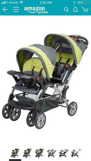 Baby trend sit N stand infant and toddler Double stroller ... for Sale in Washington, DC