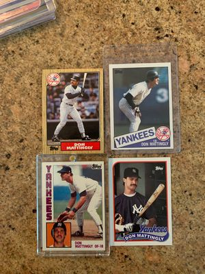 Don Mattingly Baseball cards (including Rookie) for Sale in Upland, CA