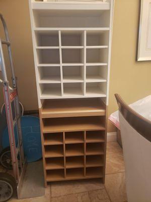 Wood closet organizer for Sale in Alafaya, FL