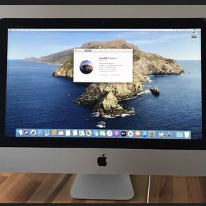 "Apple 21.5"" iMac All In One Computer - 2.7Ghz QUAD CORE i5 - 8GB RAM - 1TB HardDrive - Intel Iris Pro 1.5GB- PHOTOSHOP- ADOBE CS6 - Microsoft OFFICE W for Sale in Schaumburg, IL"