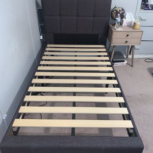 TWIN BED FRAME for Sale in Saddle Brook, NJ