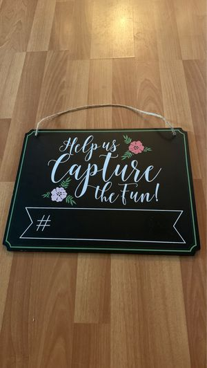 Super Cute Photo Booth Sign for Sale in Elkton, VA